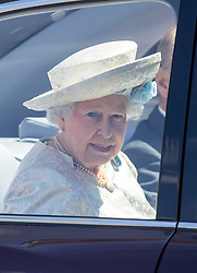 LONDON - UK - 4 JUNE 2013: Britain's HM  Queen Elizabeth, accompanied by The Duke of Edinburgh and Members of the Royal Family attend A Service to Celebrate the 60th Anniversary of the Coronation Service, at Westminster Abbey in London.<br /> <br /> Members of the Royal Family attending the Service include:<br /> The Prince of Wales and The Duchess of Cornwall<br /> The Duke and Duchess of Cambridge<br /> Prince Henry of Wales<br /> The Duke of York and Princesses Beatrice and Eugenie<br /> The Earl and Countess of Wessex and The Lady Louise Mountbatten-Windsor<br /> The Princess Royal, Vice Admiral Sir Tim Laurence, Mr and Mrs Peter Phillips, and Mr and Mrs Mike Tindall<br /> The Duke and Duchess of Gloucester<br /> The Duke and Duchess of Kent<br /> Prince and Princess Michael of Kent