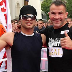 20090616: SLO, Ptuj - Predstavitev Jorgeja Mirande in Dejana Zavca pred dvobojem