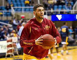 Feb 22, 2016; Morgantown, WV, USA; Iowa State Cyclones forward Georges Niang (31) warms up before their game against the West Virginia Mountaineers at the WVU Coliseum. Mandatory Credit: Ben Queen-USA TODAY Sports