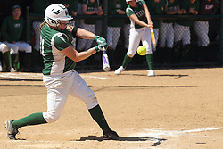 11 April 2015:  Danielle Smith during an NCAA Division III women's softball game between the Washington University Bears and the Illinois Wesleyan Titans in Bloomington IL