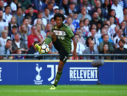 August 5, 2017 - London, England, United Kingdom - Juan Cuadrado of Juventus FC.during the Friendly match between Tottenham Hotspur and Juventus at Wembley stadium, London, England on 5 August 2017. (Credit Image: © Kieran Galvin/NurPhoto via ZUMA Press)