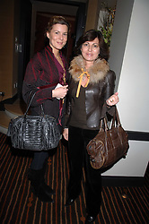 Left to right, ALEX GORE BROWNE and PILAR BOXFORD at a lunch hosted by Ralph Lauren to present their Spring 2007 collection in support of the Serpentine Gallery's Education Programme, held at Fifty, 50 St.James's Street, London SW1 on 20th March 2007.<br /><br />NON EXCLUSIVE - WORLD RIGHTS