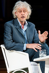 © Licensed to London News Pictures. 12/05/2017. BOB GELDOF makes a speech at The Convention, a two day public debate on the deep impacts of Brexit and the political crash. London, UK. Photo credit: Ray Tang/LNP