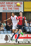 Dundee&rsquo;s Paul McGinn and Ross County&rsquo;s Raffaele De Vita - Dundee v Ross County - Ladbrokes Premiership at Dens Park<br /> <br />  <br />  - &copy; David Young - www.davidyoungphoto.co.uk - email: davidyoungphoto@gmail.com