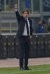 February 26, 2019 - Rome, Italy - Simone Inzaghi during the Italian Cup football match between SS Lazio and AC Milan at the Olympic Stadium in Rome, on february 26, 2019. (Credit Image: © Silvia Lore/NurPhoto via ZUMA Press)
