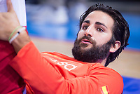 Spain's Ricky Rubio during friendly match for the preparation for Eurobasket 2017 between Spain and Venezuela at Madrid Arena in Madrid, Spain August 15, 2017. (ALTERPHOTOS/Borja B.Hojas)