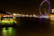 London 2008. Big eye viewed from Westminster bridge. Photo @ Antonio Nodar/Imagenes libres
