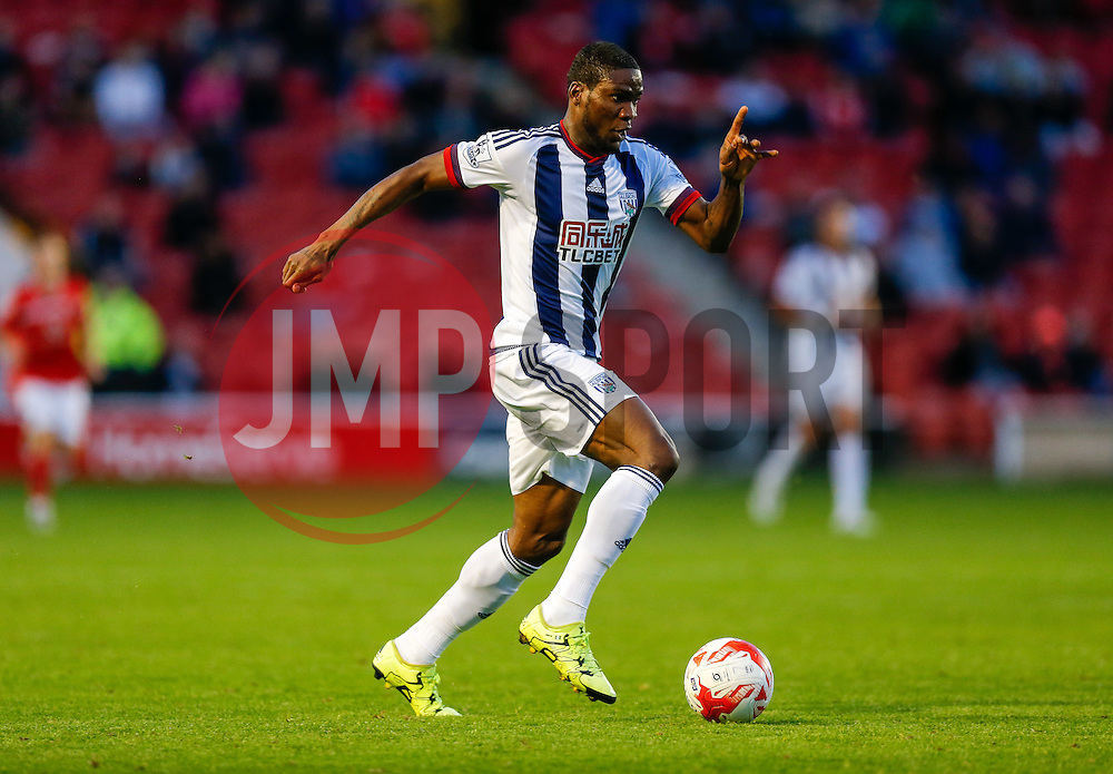 Brown Ideye of West Brom in action - Mandatory byline: Rogan Thomson/JMP - 07966 386802 - 28/07/2015 - SPORT - Football - Walsall, England - Besot Stadium - Walsall v West Bromwich Albion - 2015/16 Pre Season Friendly.