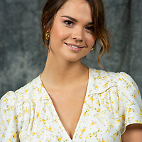 "HOLD FOR WIRE. This photo shows actress Maia Mitchell posing for a portrait session to promote Freeform's ""Good Trouble"" show on Thursday, July 11, 2019, in Burbank, Calif. (Photo by Willy Sanjuan/Invision/AP)"