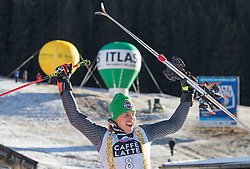 18.12.2016, Grand Risa, La Villa, ITA, FIS Ski Weltcup, Alta Badia, Riesenslalom, Herren, Siegerpräsentation, im Bild Florian Eisath (ITA, 3. Platz) // third placed Florian Eisath of Italy during the winner presentation for the men's Giant Slalom of FIS ski alpine world cup at the Grand Risa race Course in La Villa, Italy on 2016/12/18. EXPA Pictures © 2016, PhotoCredit: EXPA/ Johann Groder
