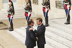 September 15, 2017 - Paris, France, France - Francois Hollande - Emmanuel Macron (Credit Image: © Panoramic via ZUMA Press)