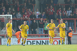 Bristol Rovers - Mandatory byline: Neil Brookman/JMP - 07966 386802 - 03/10/2015 - FOOTBALL - Globe Arena - Morecambe, England - Morecambe FC v Bristol Rovers - Sky Bet League Two