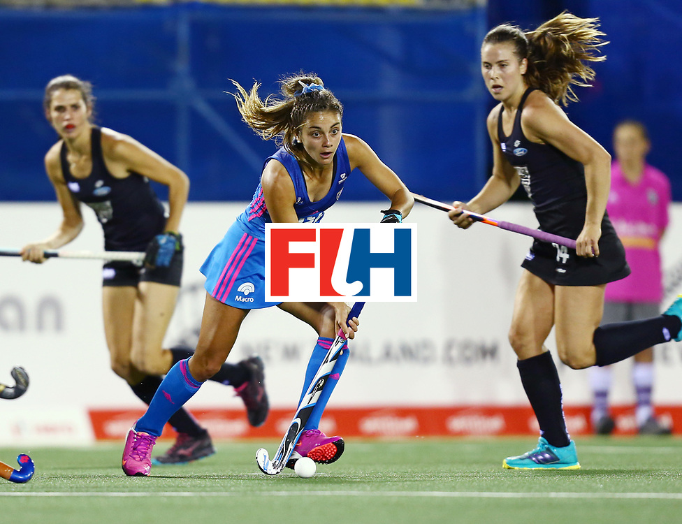 New Zealand, Auckland - 22/11/17  <br /> Sentinel Homes Women&rsquo;s Hockey World League Final<br /> Harbour Hockey Stadium<br /> Copyrigth: Worldsportpics, Rodrigo Jaramillo<br /> Match ID: 10304 - ARG vs NZL<br /> Photo: (10) FERNANDEZ LADRA Magdalena