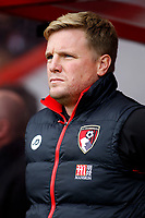 Football - 2016 / 2017 Premier League - AFC Bournemouth vs. Hull City<br /> <br /> Bournemouth's Manager Eddie Howe before kick off at Dean Court (The Vitality Stadium) Bournemouth<br /> <br /> Colorsport/Shaun Boggust