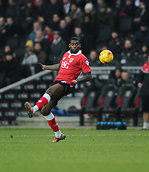Bristol City's Jay Emmanuel-Thomas  - Photo mandatory by-line: Joe Meredith/JMP - Mobile: 07966 386802 - 07/02/2015 - SPORT - Football - Milton Keynes - Stadium MK - MK Dons v Bristol City - Sky Bet League One