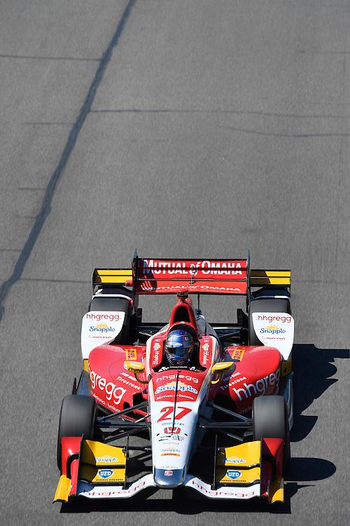 22-24 April, 2016, Birmingham, Alabama USA <br /> 27 Marco Andretti<br /> &copy;2016, Scott R LePage <br /> LAT Photo USA