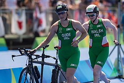 WALSH Catherine, MEEHAN Francine - Guide, IRL, Para-Triathlon, PT5 at Rio 2016 Paralympic Games, Brazil