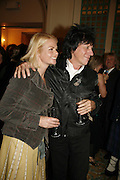 Jeff Beck and his wife Sandra, Classic Rock Roll of Honour, Classic Rock magazineÍs annual awards party. Langham Hotel, portland Place. London. 6 November 2006.  ONE TIME USE ONLY - DO NOT ARCHIVE  © Copyright Photograph by Dafydd Jones 66 Stockwell Park Rd. London SW9 0DA Tel 020 7733 0108 www.dafjones.com