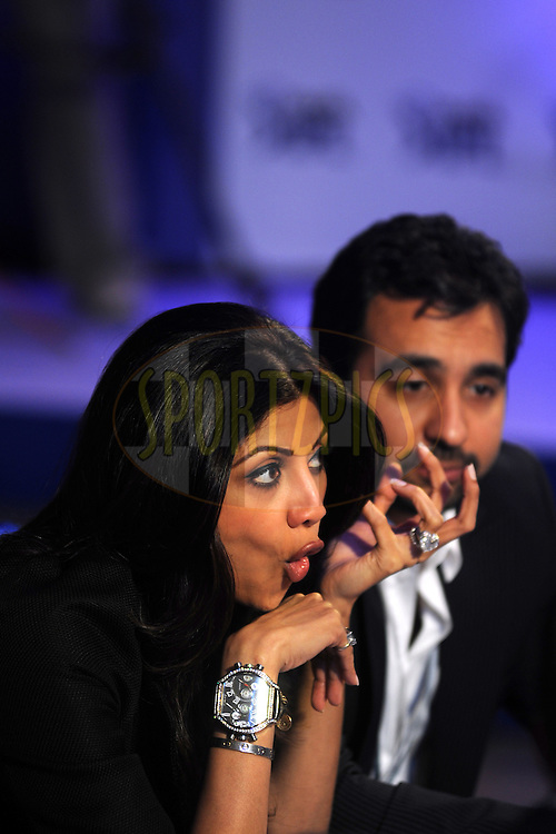 Shilpa Shetty of Rajasthan Royals  during the 2011 IPL (Indian Premier League ) Player Auction held in Bengaluru, Bangalore, Karnataka, India on the 8th and 9th January 2011..Photo by Pal Pillai/BCCI/SPORTZPICS