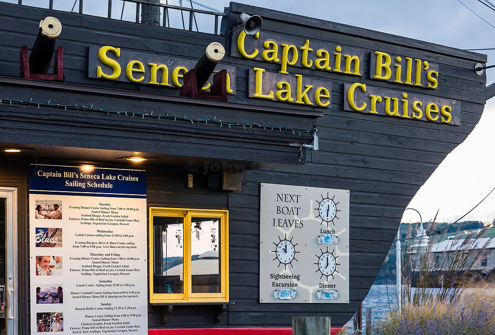 Captain Bill's Seneca Lake Cruises, Watkins Glen, New York, USA
