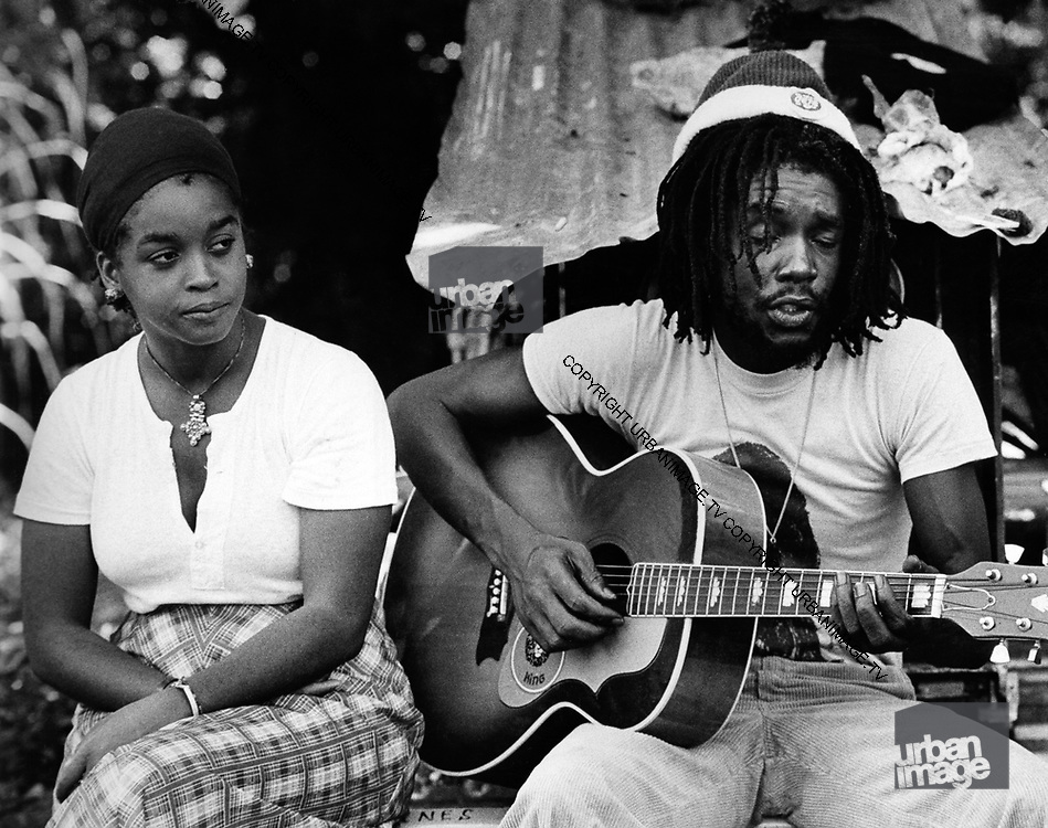 Peter Tosh and wife Marlene - Jamaica 1978