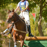 Jennifer O'Neill and That'll Do II at the 2007 Wellpride American Eventing Championships in Wayne, IL, USA.