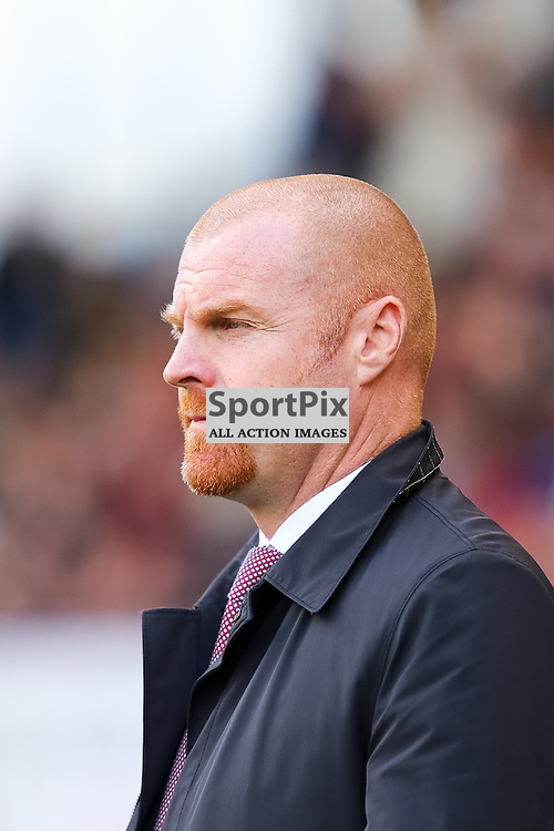 Burnley Manager Sean Dyche during Burnley v Bolton, Sky Bet Championship, 17 October 2015,  (c) Jackie Meredith/SportPix.org.uk