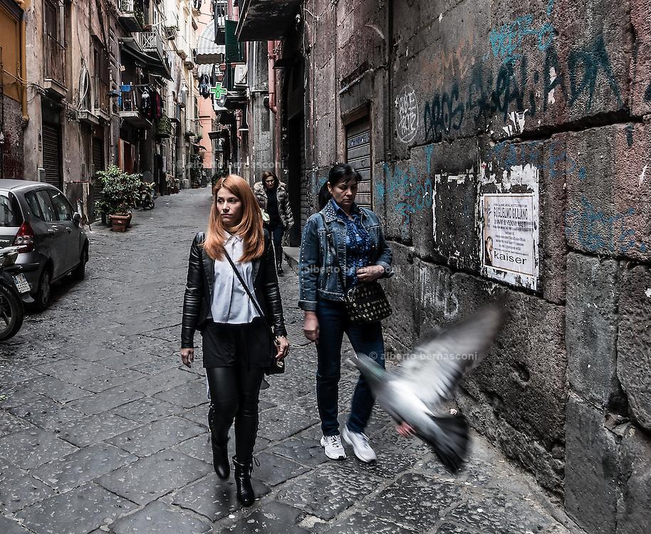 Naples, Decumani area,