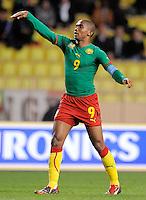 Fussball International, Italienische Nationalmannschaft  Italien - Kamerun 03.03.2010 Samuel Eto'o (KAM)