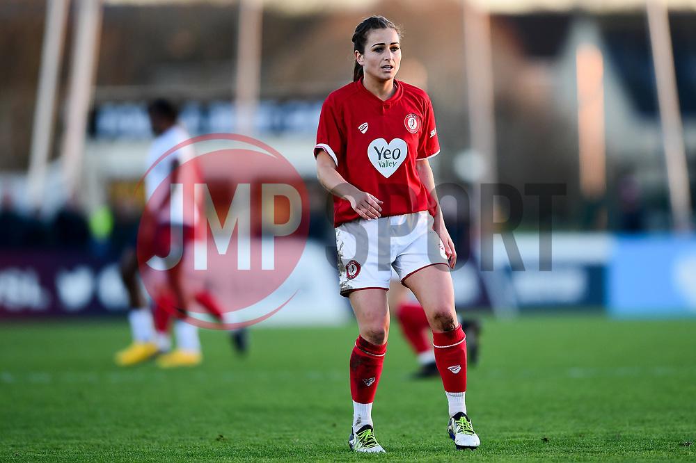 Megan Wynne of Bristol City Women - Mandatory by-line: Ryan Hiscott/JMP - 19/01/2020 - FOOTBALL - Stoke Gifford Stadium - Bristol, England - Bristol City Women v Liverpool Women - Barclays FA Women's Super League