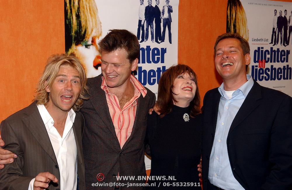NLD/Eemnes/20050912 - Personferentie Dichter bij Liesbeth, Antonie Kamerling, Beau van Erven Dorens Liesbeth List, Albert Verlinde