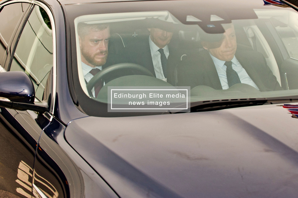 Chancellor of the Exchequer, Philip Hammond arriving to the Houses of Parliament for Prime Ministers Questions. <br /> <br /> Richard Hancox   EEm 22052019