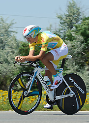 09.07.2011, AUT, 63. OESTERREICH RUNDFAHRT, 9. ETAPPE, EZF PODERSDORF, im Bild Fredrik Kessiakoff, (SWE, Pro Team Astana) // during the 63rd Tour of Austria, Stage 7, 2011/07/09, EXPA Pictures © 2011, PhotoCredit: EXPA/ S. Zangrando