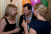 KATE REARDON; BRENT HOBERMAN, Kate Reardon and Michael Roberts host a party to celebrate the launch of Vanity Fair on Couture. The Ballroom, Moet Hennessy, 13 Grosvenor Crescent. London. 27 October 2010. -DO NOT ARCHIVE-© Copyright Photograph by Dafydd Jones. 248 Clapham Rd. London SW9 0PZ. Tel 0207 820 0771. www.dafjones.com.
