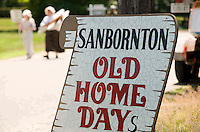 Sanbornton Old Home Day parade and festivities July 17, 2010..