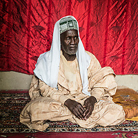 Baga Sola, Lake region, Chad.<br /> <br /> <br /> UAl Hadji Moussa Affono, 67, is the actual mayor of Baga Sola. He is a very well known trader but with his age he cannot continue today his comercial and political activities. <br /> <br /> <br /> Sylvain Cherkaoui/Cosmos for MSF