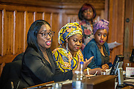 The Sierra Leone Diaspora Forum: This event will provide Sierra Leoneans a platform for discussions, engaging and networking and the opportunity to help shape the lives of girls and women London, Jan. 24, 2017 (Photos/Ivan Gonzalez)