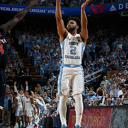 2017-02-18 Virginia at North Carolina Tar Heels basketball
