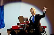 ROTTERDAM - PVV-leider Geert Wilders houdt zijn eerste officiële campagnespeech in Ahoy in Rotterdam.