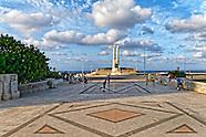 Parque La Piragua, Havana Vedado, Cuba.