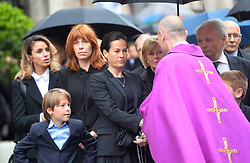 May 29, 2019 - Vienna, Austria - Birgit Lauda attending the funeral of Formula 1 racing driver Niki Lauda at St Stephan Cathedral on May 29 2019 in Vienna, Austria  (Credit Image: © Famous/Ace Pictures via ZUMA Press)