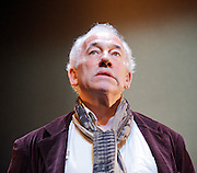A Christmas Carol<br /> by Charles Dickens<br /> directed &amp; designed by Tom Cairns<br /> at The Arts Theatre, London, Great Britain <br /> press photocall<br /> 8th December 2011 <br /> <br /> Simon Callow<br /> <br /> Photograph by Elliott Franks