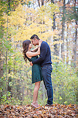 Tiffany & Vu's perfect fall engagement, Riverside Park, Cambridge, Ontario