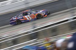 May 6, 2018 - Dover, Delaware, United States of America - Denny Hamlin (11) battles for position during the AAA 400 Drive for Autism at Dover International Speedway in Dover, Delaware. (Credit Image: © Justin R. Noe Asp Inc/ASP via ZUMA Wire)