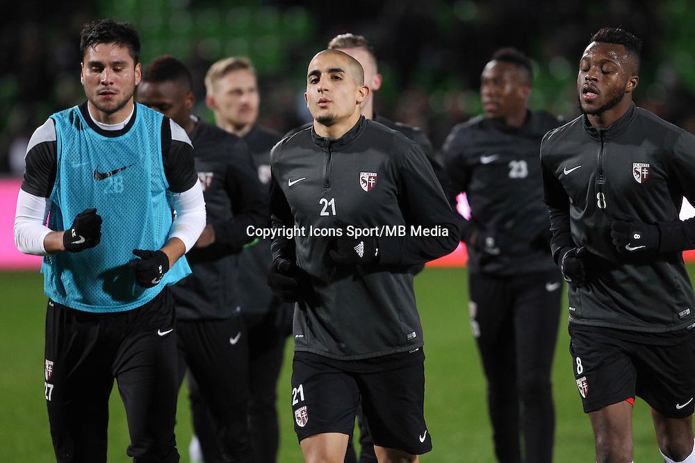 Ahmed KASHI - 20.12.2014 - Metz / Monaco - 17e journee Ligue 2<br />Photo : Fred Marvaux / Icon Sport
