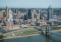Cincinnati Skyline at Day