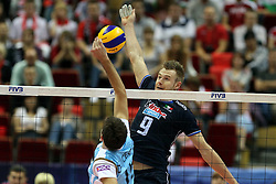 06.07.2011, Gdansk, POL, FIVB World League, Final 2011, Argentinia vs Italy, im Bild (L) LUCIANO DE CECO (ARG) , (P) IVAN ZAYTSEV (ITA). EXPA Pictures © 2011, PhotoCredit: EXPA/ Newspix/ Jakub Piasecki +++++ ATTENTION - FOR AUSTRIA/(AUT), SLOVENIA/(SLO), SERBIA/(SRB), CROATIA/(CRO), SWISS/(SUI) and SWEDEN/(SWE) CLIENT ONLY +++++