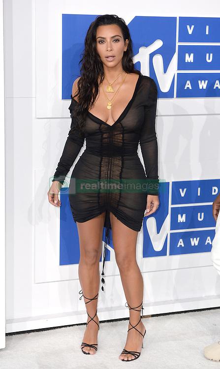 Kim Kardashian arriving at the MTV Video Music Awards 2016, Madison Square Garden, New York City. Photo credit should read: Doug Peters/EMPICS Entertainment