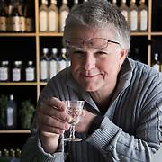Christian Jensen, owner of <br /> Bermondsey Distillery, the makers of Jensen's Gin.