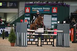 Krause, Nancy, Antallia<br /> Leipzig - Partner Pferd<br /> Finale Partner Pferd Cup<br /> © www.sportfotos-lafrentz.de/Stefan Lafrentz